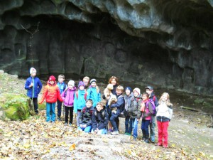 Besuch im Steinbruch