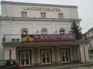 Landestheater Salzburg Eingang