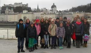 Klasse 5b der HOHENAU-Schule in Salzburg