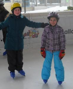 Eislaufen macht einfach Spaß