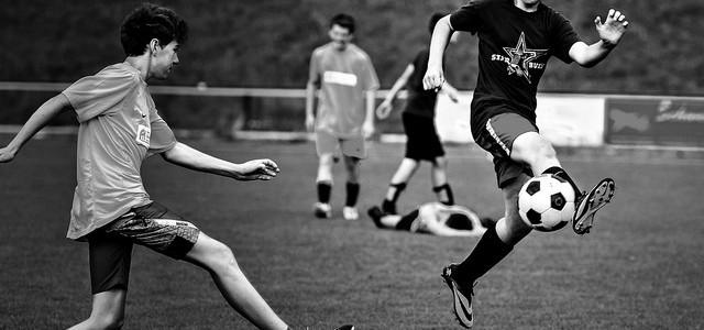 Fußballturnier der Mittelschule