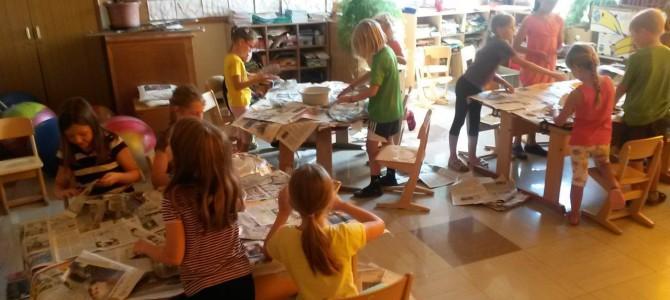 Kunsttag an der Grundschule
