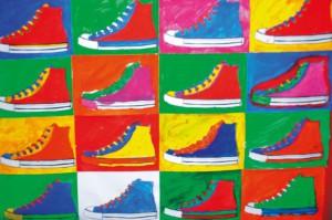 Vorlage Andy Warhol