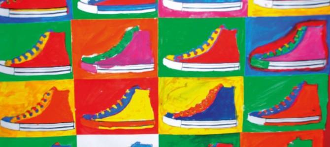 Vernissage zum Kunstprojekt der Grundschule