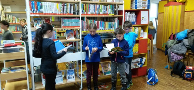 Leseralley in  der Stadtbibliothek
