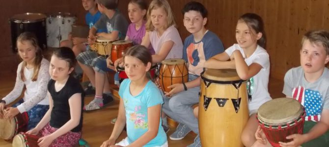 Samba in der Turnhalle