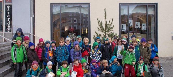 Klassenrallye in der Stadtbücherei
