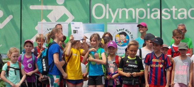 Ein unvergesslicher Sporttag im Olympiastadion