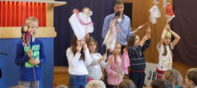 Theakrino zu Gast in der Grundschule