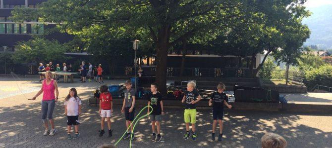 Der große Tag der Sportvereine – ein Grund- und Mittelschultag