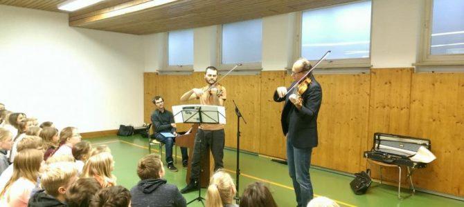 Schulisches Musikprojekt geht in die nächste Runde