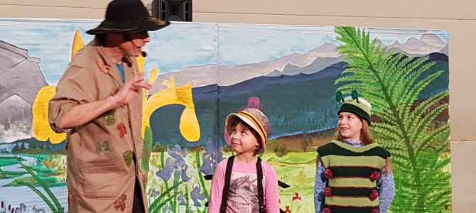 Käfer und Co besuchen die Grundschule