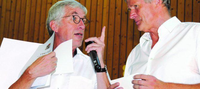 Verabschiedung von Rektor Günther Kessler