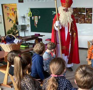 Besuch des Nikolaus